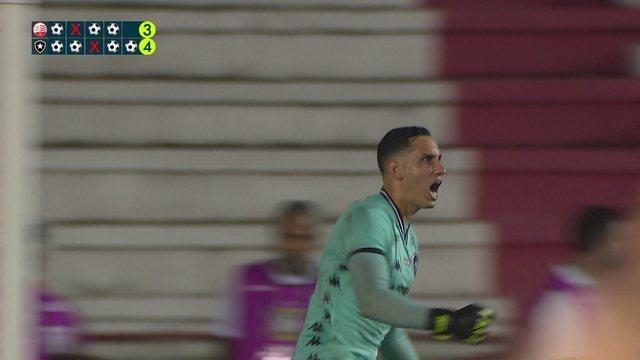O pênalti decisivo de Náutico 1 (3) x (4) 1 Botafogo pela Copa do Brasil