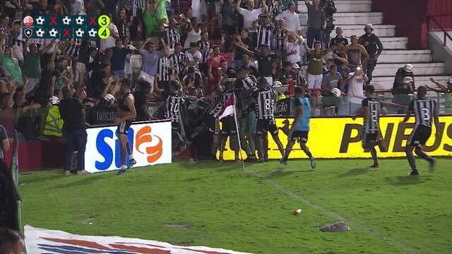 Melhores momentos: Náutico 1 (3) x (4) 1 Botafogo pela Copa do Brasil