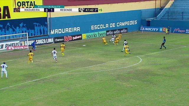 Melhores momentos de Madureira 0 x 2 Resende pela 4ª rodada da Taça Rio