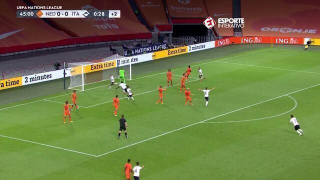 Holanda 0 X 1 Italia Liga Das Nacoes Rodada 2 Tempo Real Globo Esporte