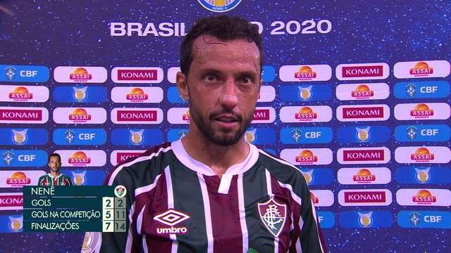 """Nenê elogia time mesmo nas derrotas dos últimos jogos, mas vibra com vitória: """"Estamos de parabéns"""""""
