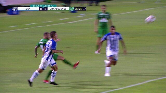 Melhores momentos de CSA 0 x 1 Chapecoense, pela 21ª rodada da Série B