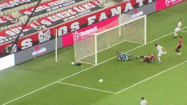 Melhores momentos: Athletico-PR 1 x 0 Santos, pela 22ª rodada do Brasileirão