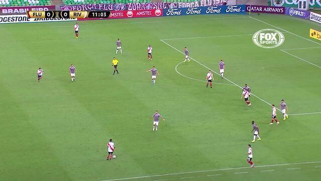 Melhores momentos: Fluminense 1 x 1 River Plate, pela 1ª rodada da Libertadores