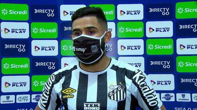 """Felipe Jonatan analisa momento do Santos: """"Foco é deixar o time na série A"""""""