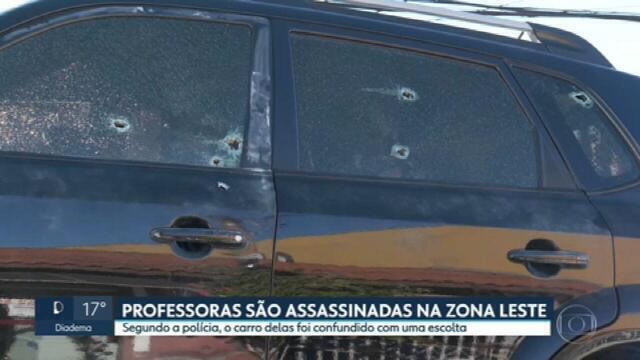 9542864 Professora e diretora de escola são assassinadas durante assalto na Zona Leste de SP
