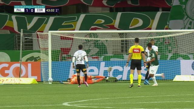 Melhores momentos de Palmeiras 1 x 1 Corinthians pela terceira rodada do Campeonato Brasileiro