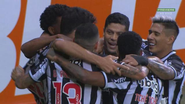 Os gols de Atlético-MG 3 x 0 Sport pela 21ª rodada do Brasileirão
