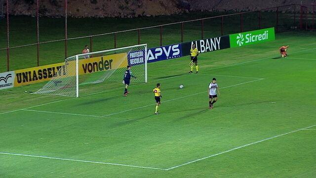 Os gols de Fluminense 0 (1) X (3) 0 São Paulo pelas quartas de final da Copa do Brasil Sub-17