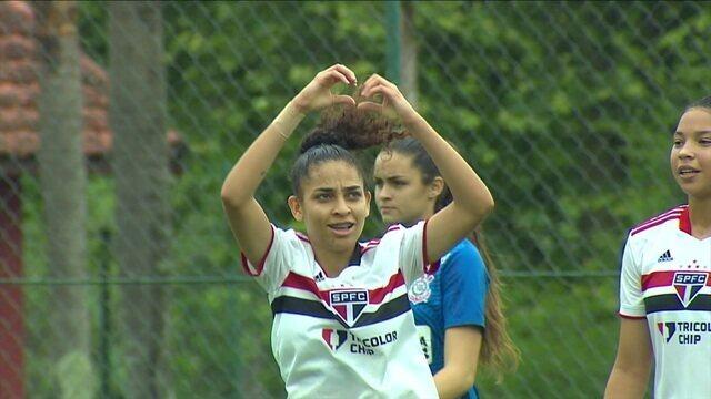 Os Gols de São Paulo 2 x 0 Corinthians pela final do Campeonato Brasileiro Feminino Sub-18