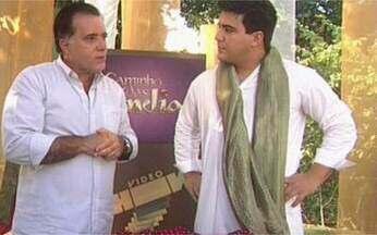 Tony Ramos conta o que viu na Índia - Ator que interpreta Opash em Caminho das Índias gravou cenas da novela no país