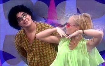 Angélica e André Marques interpretam clipe de Michael Jackson - Apresentadores dançam 'Don't Stop To Get Enough'.