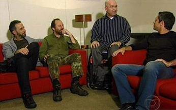 Luigi Baricelli entrevista Os Paralamas do Sucesso no Segue a Trilha - Banda participa do Vídeo Show