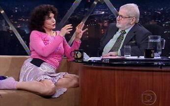 Atriz Lady Francisco fala de novo espetáculo - Ela é uma das protagonistas de 'Três Mulheres e um Destino'.