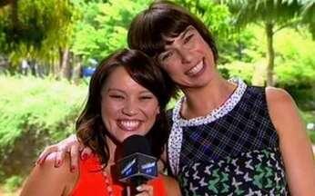Maria Paula comemora quinze anos de Casseta e Planeta - Geovanna Tominaga entrevistou a atriz nesta segunda-feira, 30.