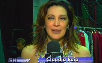 Claudia Raia estreia o musical Pernas Pro Ar - Vídeo Show conferiu os basidores do espetáculo.