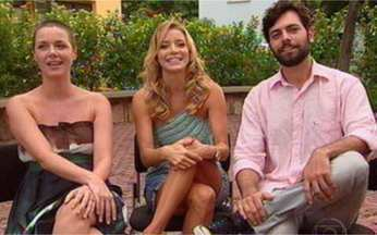 O amor dramático de Ariane por Leo em Viver a Vida - Christiane Fernandes, Gisela Reimann e Leonardo Machado falam do triângulo amoroso.