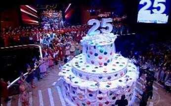 """25 anos de Criança Esperança! - Artistas tocam e cantam """"Parabéns pra você"""" na comemoração dos 25 anos de Criança Esperança!"""