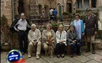 Vídeo Show News Especial com atores veteranos - Atores que trabalharam no início das produções televisivas visitaram o Projac