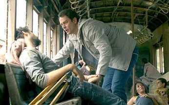 Passione - capítulo de terça feira, dia 16/11/2010, na íntegra - Gerson encontra Danilo sujo e dormindo no chão