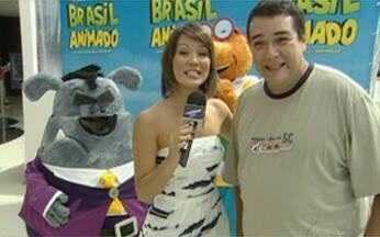 Geovanna Tominaga confere a pré-estreia do filme Brasil Animado - Desenho animado em 3D estreia nesta sexta, dia 21