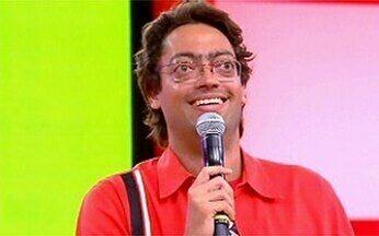 Fernando Caruso faz stand up sobre carnaval - Caruso fala sobre o improviso no mundo dos comediantes.