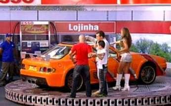 Confira como ficou o carro de Alex - Huck entrega o Miura novinho para Alex, que fica emocionado