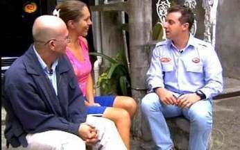 Caldeirao - Miura do Alex - Veja a conversa de Alex e Alexandra com Huck. A transexual interpreta Lady Gaga no palco.