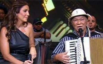 Você Viu? Ivete Sangalo dividiu palco com Dominguinhos no Altas Horas - Dominguinhos no Altas Horas Programa foi ao ar no dia 14 de maio de 2011