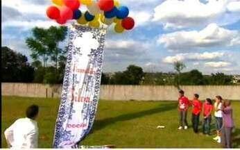Família Silva vence a prova e ganha a reforma da casa - Priscila e os irmãos conseguem recolher balões de gás hélio. A faixa do Lar Doce Lar levanta e eles ganham a reforma da casa.