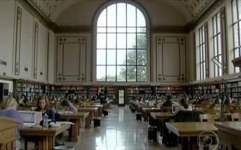 Universidades americanas estão entre as melhores instituições do mundo - Os Estados Unidos costumam ter seis ou sete escolas entre as dez melhores. E, entre as cem, não aparece uma única universidade brasileira. Enquanto Berkeley tem mais de 30% de alunos estrangeiros, a taxa na maior pública do Brasil é de apenas 2%.