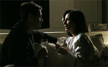 Será que teriam convidados no casamento de Norma e Léo, em 'Insensato'? - Os dois tentaram se casar, mas a polícia chegou bem na hora do 'sim'