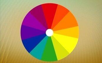 Paleta mostra a harmonia complementar e análoga das cores para decorar sua casa - As cores complementares são opostas nas paleta, enquanto as análogas tem diferenças graduais. O uso delas na decoração harmonizam o ambiente.