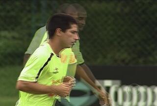 De volta ao Atlético-MG, Danilinho quer brilhar com a camisa alvinegra - Atacante está ansioso para reestrear no domingo, contra o América TO.