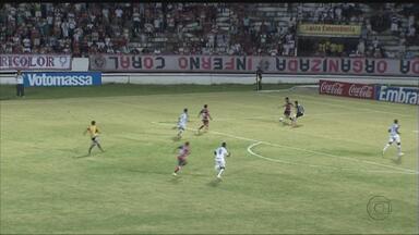 Confira os melhores momentos do empate por 0 a 0 entre Santa Cruz e Central - Confira os melhores momentos do empate por 0 a 0 entre Santa Cruz e Central