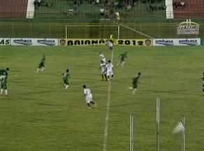 Juazeiro empata e ganha o primeiro ponto no Campeonato Baiano - O Serrano saiu na frente, mas o Juazeiro conseguiu igualar o placar.