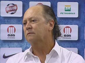 Falcão justifica o empate no Ba-Vi: 'Tivemos pouco tempo' - Técnico do Bahia fala em entrevista coletiva após o 0 a 0 com o Leão.