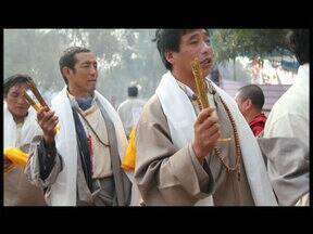 Mais Você mostra celebração do Ano Novo tibetano - No Tibet, o dia 22 fevereiro marca a chegada do ano 2139, e Ana Maria mostrou como a data é celebrada no país