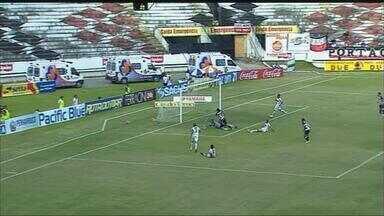 Os gols de Santa Cruz 2 a 0 Serra Talhada - Tricolor venceu com gols de Dênis Marques e Geíson