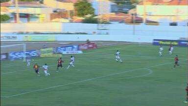 O gol da vitória do Sport sobre o Petrolina - Leão marcou com Jael aos 44 minutos do segundo tempo