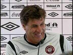 Carrasco quer regularidade - O Atlético vive uma fase de altos e baixos, mas para o treinador o time precisa de regularidade.