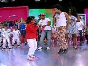Marary Lord e Kalinde Maiara se apresentam no Esquenta! - Dupla canta sua música, sensação do carnaval baiano.