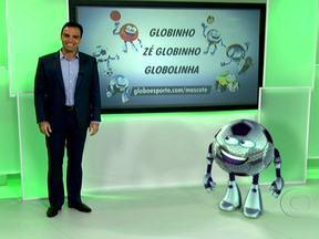 Mascote esportivo pode se chamar Globinho, Zé Globinho ou Globolinha - Esses três foram os nomes mais votados para irem para a final da votação. O internauta pode votar no site do Globo Esporte e ajudar a criatura simpática a ter uma identidade.