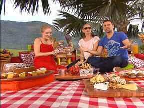 Angélica bate um papo com Murilo Rosa e Fernanda Tavares - A apresentadora convida o casal para um piquenique