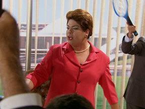 Dilma se irrita com mosquitos em seu gabinete - Presidenta pede ajuda aos ministros para acabar com o inseto
