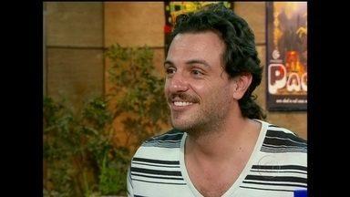 O Produtor faz uma entrevista e emprego com Rodrigo Lombardi - Ator procura caça-talentos para conseguir uma chance de atuar