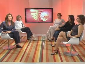 Júlia Lemmertz, malu Mader e Maria Paula discutem criação rigorosa - A apresentadora Renata Ceribelli se reuniu com as atrizes.