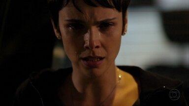 Nina chora ao ver Jorginho e Débora juntos - A acrobata oferece ajuda ao ex e o convence a voltar para casa. Jorginho fica impressionado com a generosidade de Débora