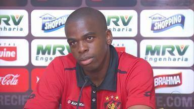 Tobi assume novo desafio no Sport - No primeiro jogo do Leão fora de casa, contra o Santos, Tobi vai encarar o meio-campo depois de um tempão jogando na zaga.