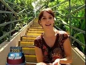 Em 2006, Débora Falabella mostrou o clube onde passou sua infância - Relembre a matéria no Baú do Vídeo Show